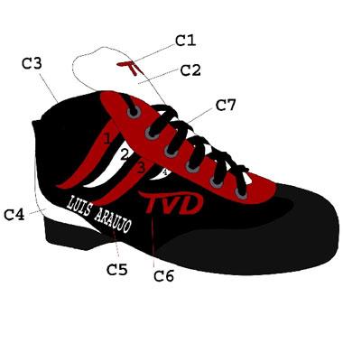 Botas TVD Diablo Cor Especial
